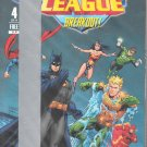 JUSTICE LEAGUE MINI COMIC #4