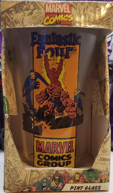 MARVEL COMICS FANTASTIC FOUR GLASS