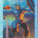 MARVEL MASTERPIECES HOLOFOIL 1994 #1 CAPTAIN AMERICA