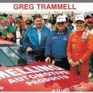 RACING CHAMPIONS GREG TRAMMELL CARD