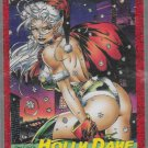 WIZARD MAGAZINE CARD #9 HOLLY DAYE