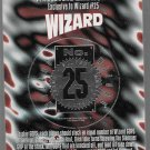 WIZARD MAGAZINE 25TH ANNIVERSARY SILVER GOP