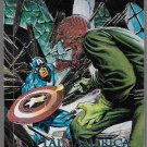 MARVEL MASTERPIECES 1992 #5-D CAPTAIN AMERICA vs RED SKULL