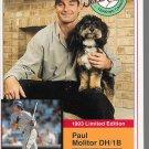 TRADING CARD MILK BONE SUPER STARS 1993 #1