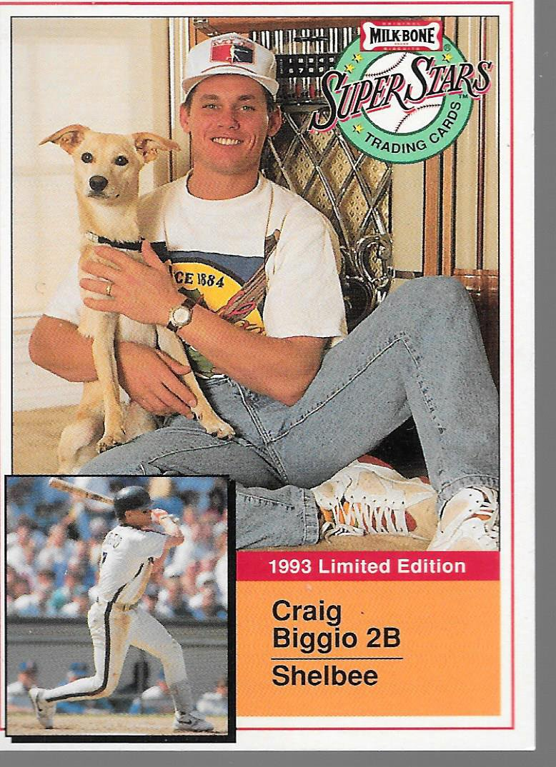 TRADING CARD MILK BONE SUPER STARS 1993 #20