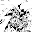 SPAWN #300 CAPULLO & MCFARLANE B&W COVER