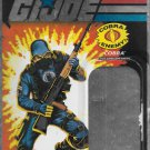 G.I. JOE 25TH ANNIVERSARY CARD BACK COBRA