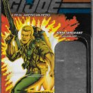 G.I. JOE 25TH ANNIVERSARY CARD BACK FIRST SERGEANT DUKE (JETPACK)