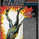 G.I. JOE 25TH ANNIVERSARY CARD BACK LT. TORPEDO