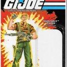 G.I. JOE CARD BACK TIGER FORCE LEADER FLINT