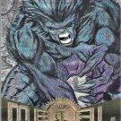 MARVEL METAL FLASHER MARVEL UNIVERSE TRADING CARDS 1995 #1