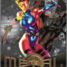 MARVEL METAL FLASHER MARVEL UNIVERSE TRADING CARDS 1995 #112
