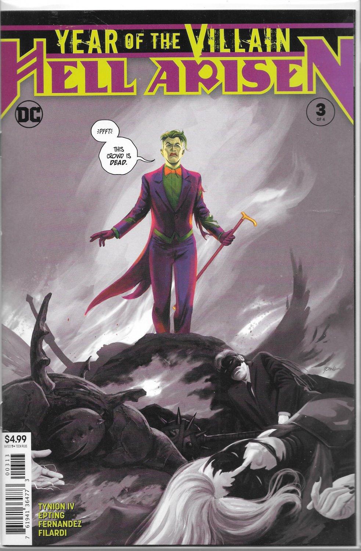 DC COMICS YOTV HELL ARISEN #3 3RD PRINT