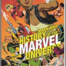 MARVEL COMICS: HISTORY OF THE MARVEL UNIVERSE #4B