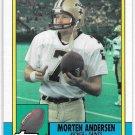 1990 TOPPS FOOTBALL MORTEN ANDERSEN #245