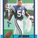 1990 TOPPS FOOTBALL JEFF HERROD #306