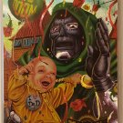 1995 MARVEL METAL TRADING CARDS DR. DOOM #128