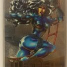 1995 MARVEL METAL TRADING CARDS FLASHER SILVER SABLE #40