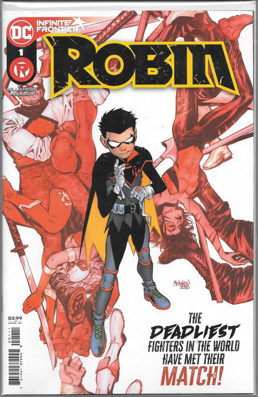 DC COMICS ROBIN VOL. 3 #1