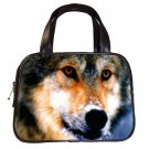 Black Designer 100% Leather  WOLF Handbag Purse #19375490