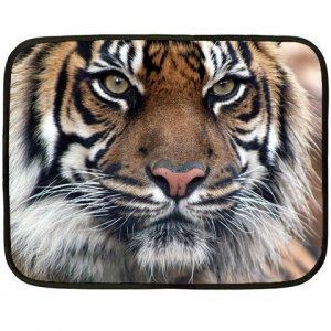 TIGER Design Lap size FLEECE BLANKET Bedding 20927663
