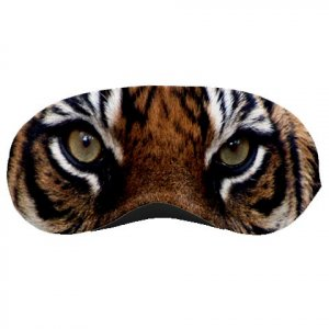 TIGER Face SLEEPING MASK Polyester foam Wild animals  22734978