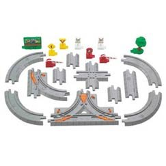 Geotrax 19-Piece Road Track Pack