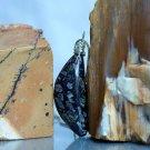 Handmade jewelry, Chinese writing stone necklace
