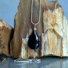 Protection talisman stone, black Tourmaline pendant