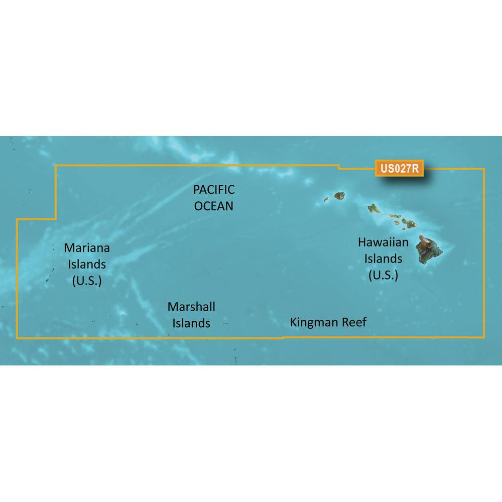 Garmin MicroSD Card BlueChart g2 Vision HD VUS027R Hawaiian Islands-Mariana Islands