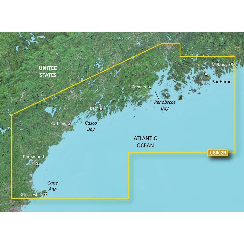 Garmin Bluechart G2 Vision South Maine Chart - VUS002R