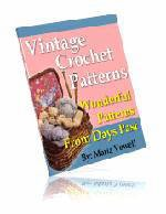 20 Wonderful Vintage Crochet Patterns