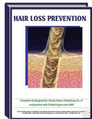 HAIR LOSS, Top eBook to save your hair! Men and Women