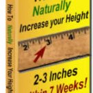How to Naturally Increase your Height