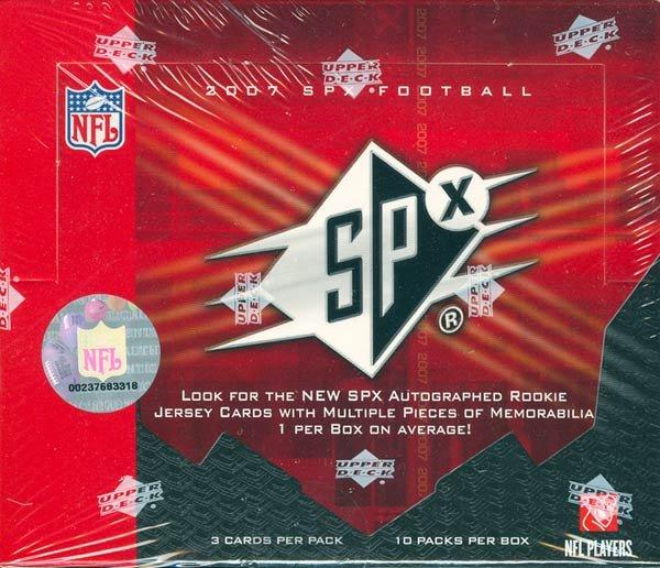 2007 Upper Deck SPx Football Hobby Box