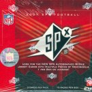 2007 Upper Deck SPx Football Hobby Box