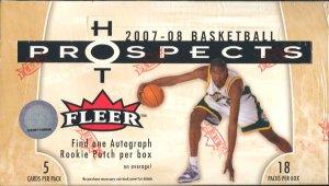 2007/08 Fleer Hot Prospects Basketball Hobby Box