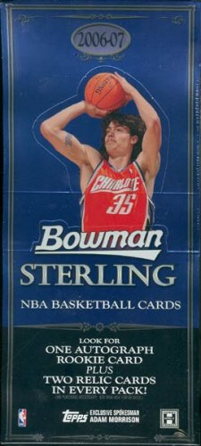 2006/07 Bowman Sterling Basketball Hobby Box