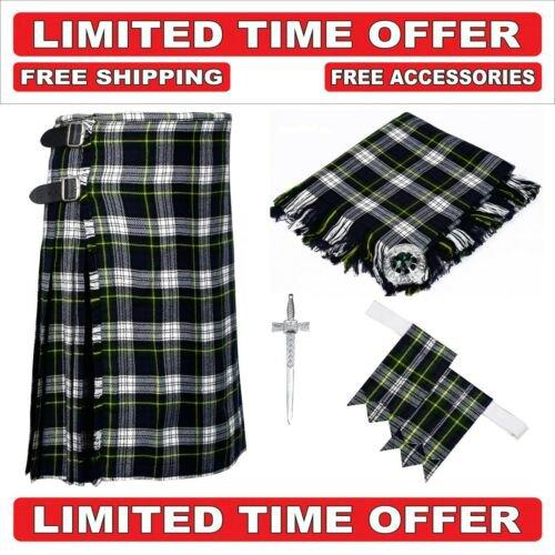 50 size dress gordon  Men's Scottish Traditional Tartan Kilt and Accessories Package