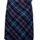 30 size pride of Scotland tartan Bias Apron Traditional 5 Yard Scottish Kilt for Men