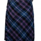 44 size pride of Scotland tartan Bias Apron Traditional 5 Yard Scottish Kilt for Men