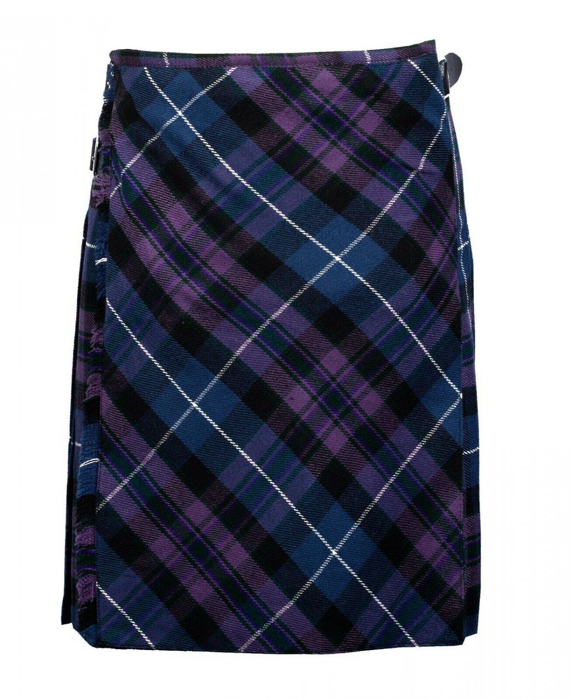 54 size pride of Scotland tartan Bias Apron Traditional 5 Yard Scottish Kilt for Men
