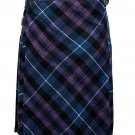 60 size pride of Scotland tartan Bias Apron Traditional 5 Yard Scottish Kilt for Men