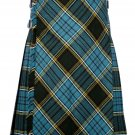 44 size Anderson tartan Bias Apron Traditional 5 Yard Scottish Kilt for Men
