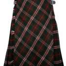 32 size Scott Hinting tartan Bias Apron Traditional 5 Yard Scottish Kilt for Men