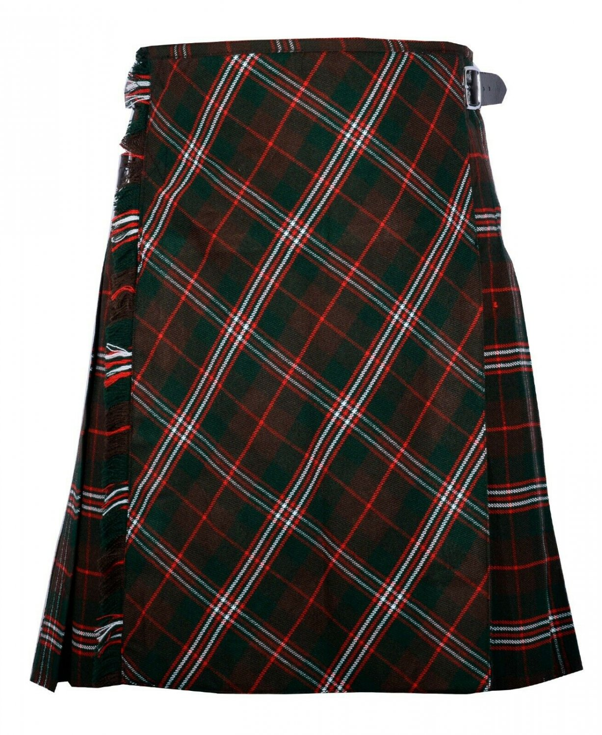 52 size Scott Hinting tartan Bias Apron Traditional 5 Yard Scottish Kilt for Men