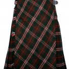 58 size Scott Hinting tartan Bias Apron Traditional 5 Yard Scottish Kilt for Men