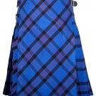32 size Elliot Modern tartan Bias Apron Traditional 5 Yard Scottish Kilt for Men