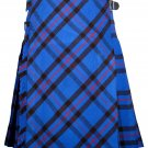 52 size Elliot Modern tartan Bias Apron Traditional 5 Yard Scottish Kilt for Men