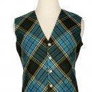 50 Size Anderson Biased Pattern 5 Buttons Tartan Waistcoat / Kilt Vest For Men